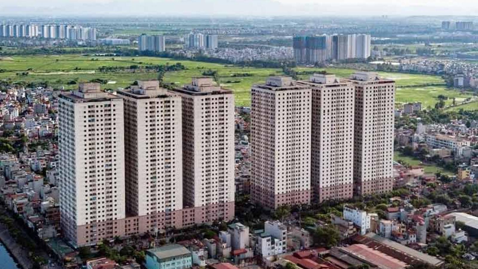 Hà Nội phong tỏa 1 tòa nhà chung cư Đại Thanh sau khi phát hiện ca mắc Covid-19