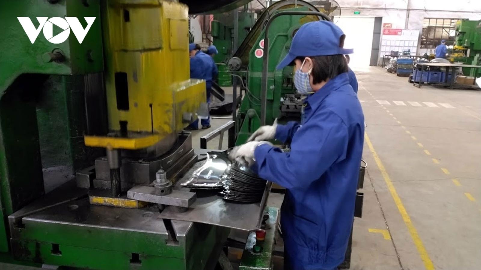 Kim ngạch xuất khẩu nhóm hàng công nghiệp chế biến tăng trưởng mạnh