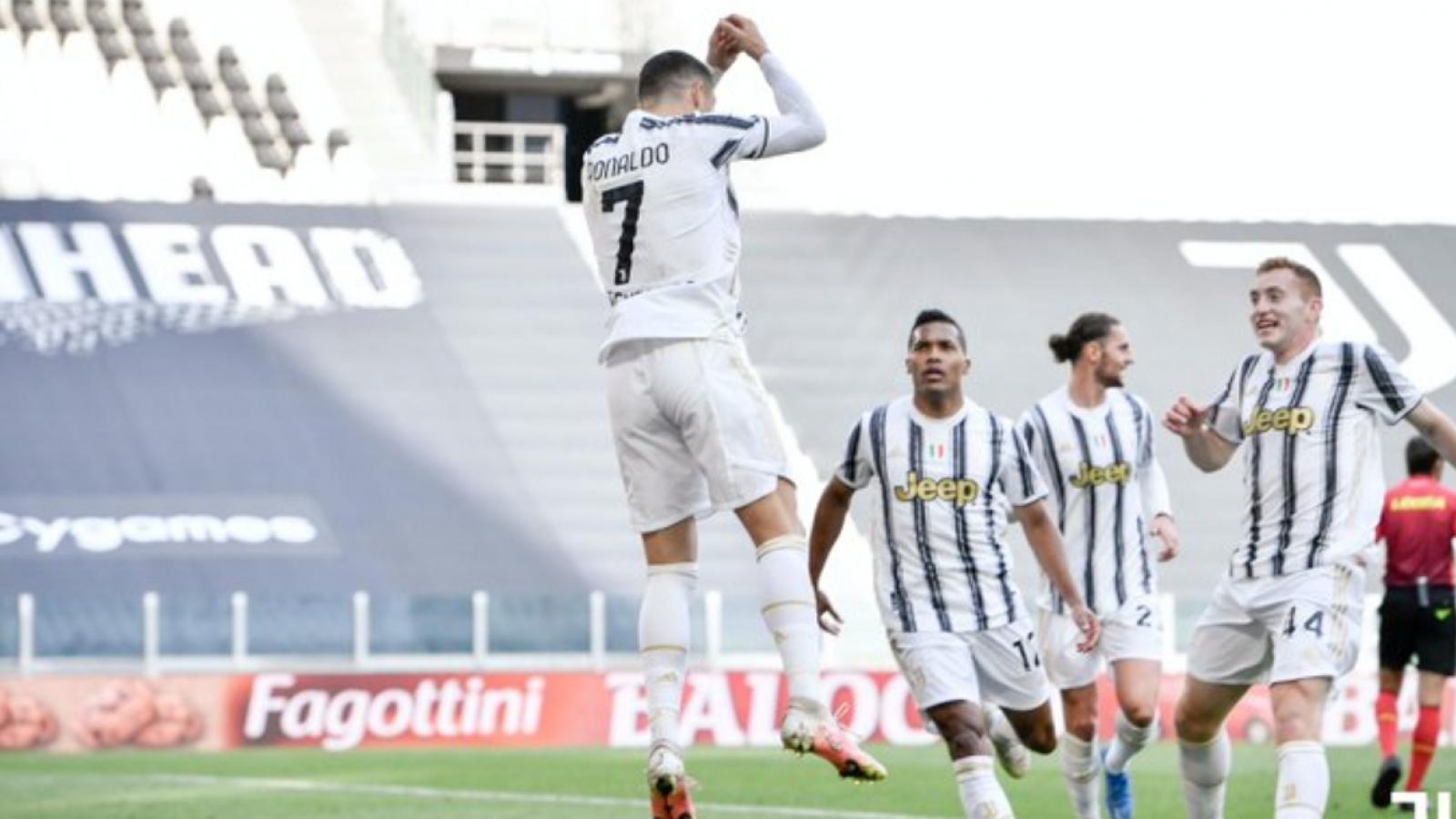 Ronaldo giúp Juventus hạ Inter Milan, nuôi hy vọng dự Champions League