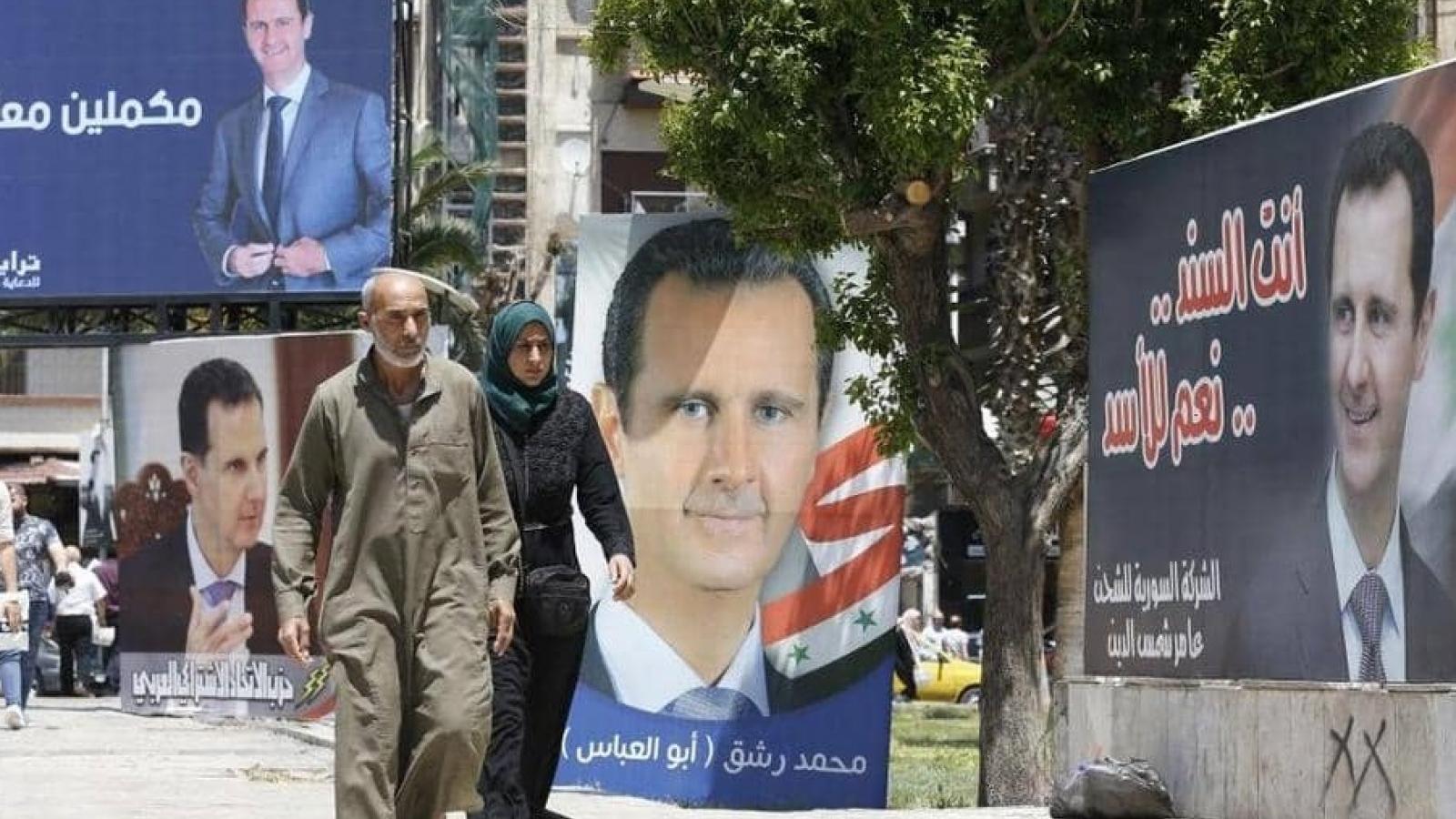 Syria tiến hành bầu cử tổng thống, hướng tới tương lai tươi sáng hơn