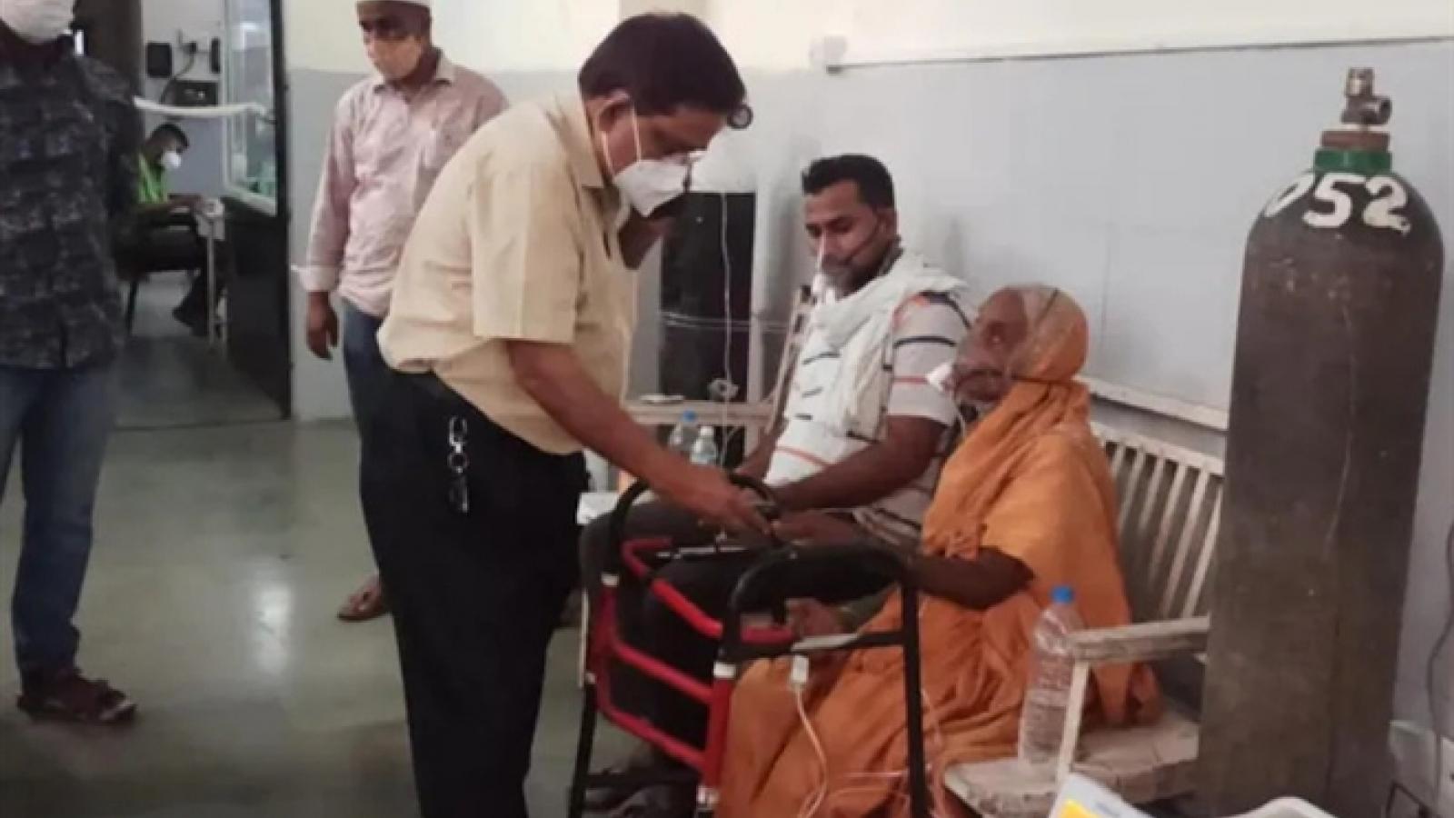 Bệnh nhân COVID-19 ở Ấn Độ tỉnh dậy ngay trước khi bị hỏa táng