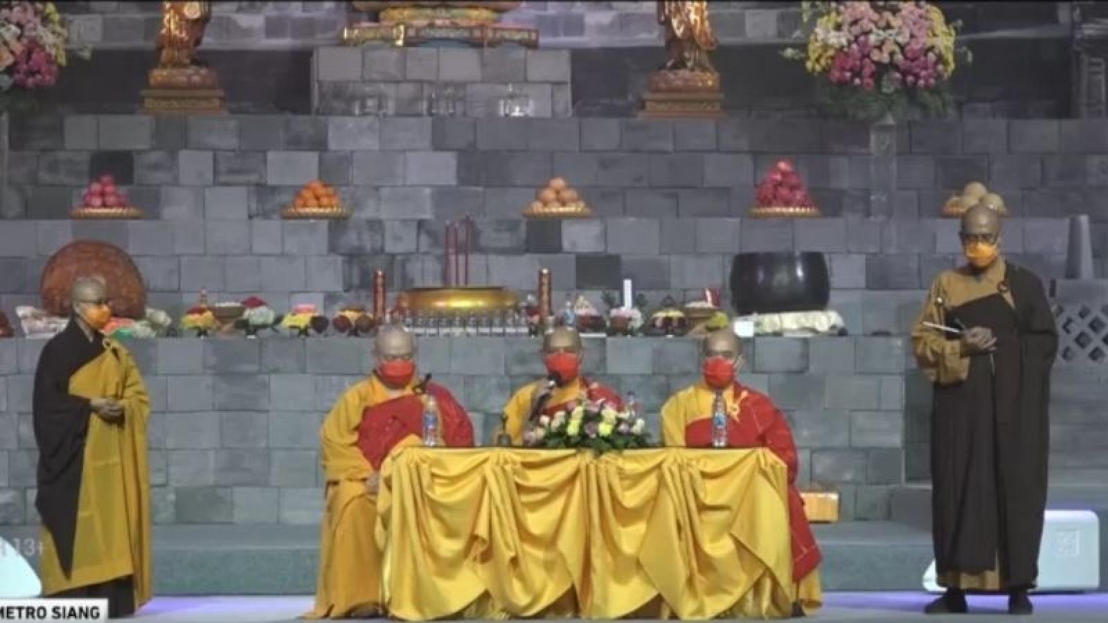 Quốc gia Hồi giáo Indonesia đón đại lễ Phật đản 2021 trong đại dịch