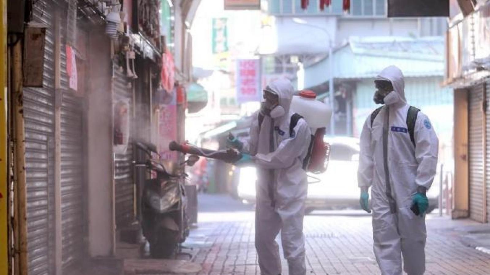 Đài Loan (Trung Quốc) lại ghi nhận hơn 300 ca Covid-19 trong ngày