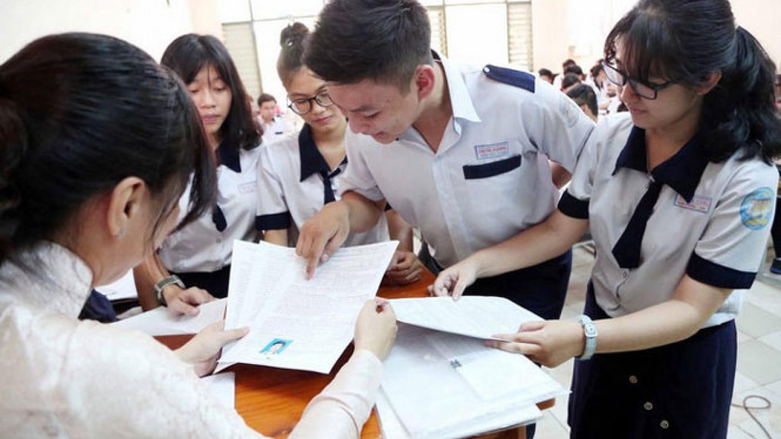 Thí sinh đăng ký 3,8 triệu nguyện vọng xét tuyển đại học, cao đẳng