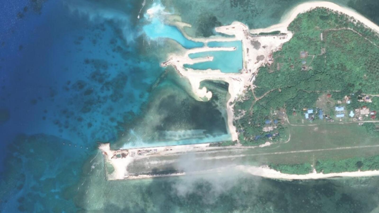 Việt Nam nói gì về thông tin Philippines nâng cấp đường băng trên đảo Thị Tứ?