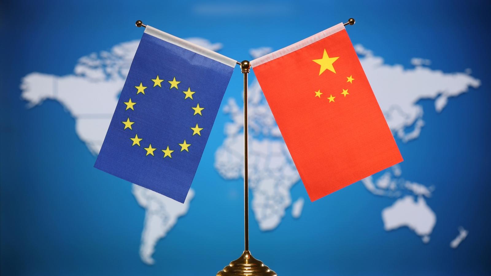 """Trung Quốc yêu cầuEU """"nghiêm túc suy nghĩ"""" việc hoãn phê chuẩn Hiệp định đầu tư"""