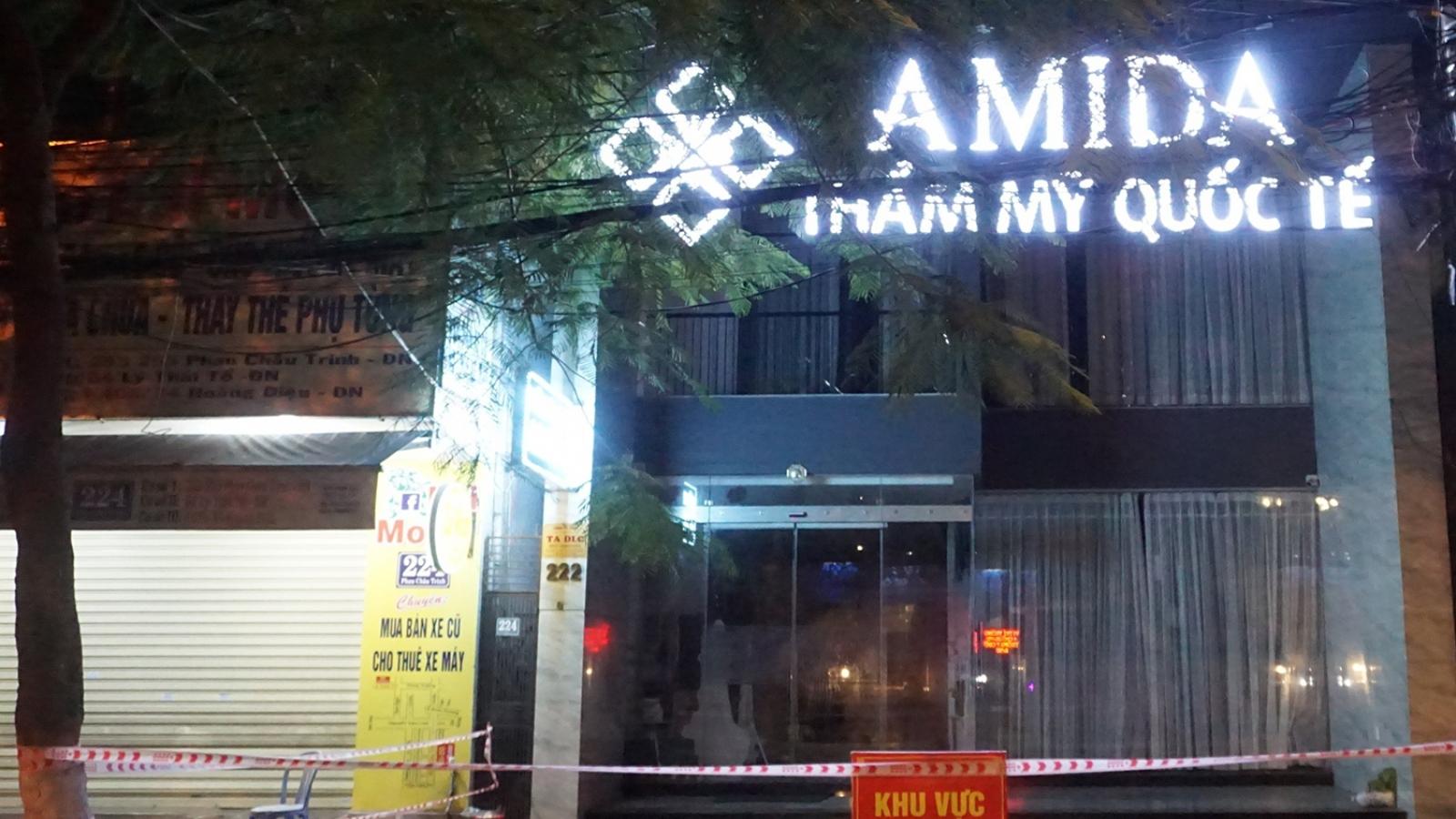 Khởi tố vụ án vi phạm phòng, chống dịch Covid-19 tại Thẩm mỹ viện AMIDA tại Đà Nẵng