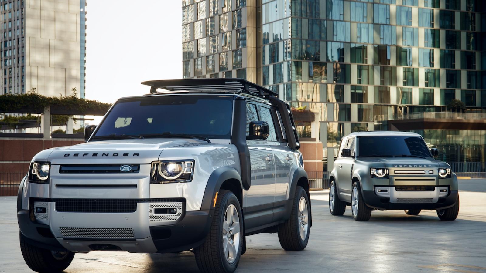 """Land Rover Defender nhận giải """"Thiết kế ô tô của năm 2021"""""""
