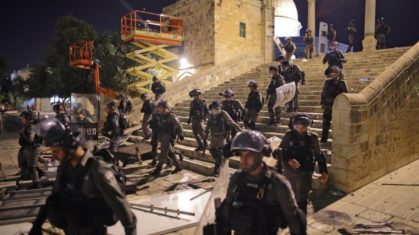 Những lần người Israel và Palestine đụng độ ở Đền thờ Al Aqsa