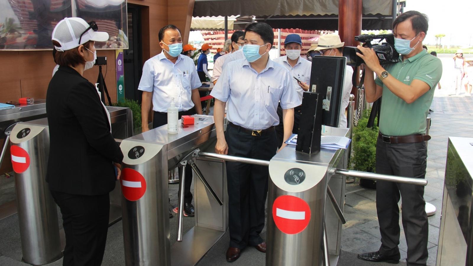 Quảng Nam lấy mẫu xét nghiệm Covid-19 ngẫu nhiên trong cộng đồng