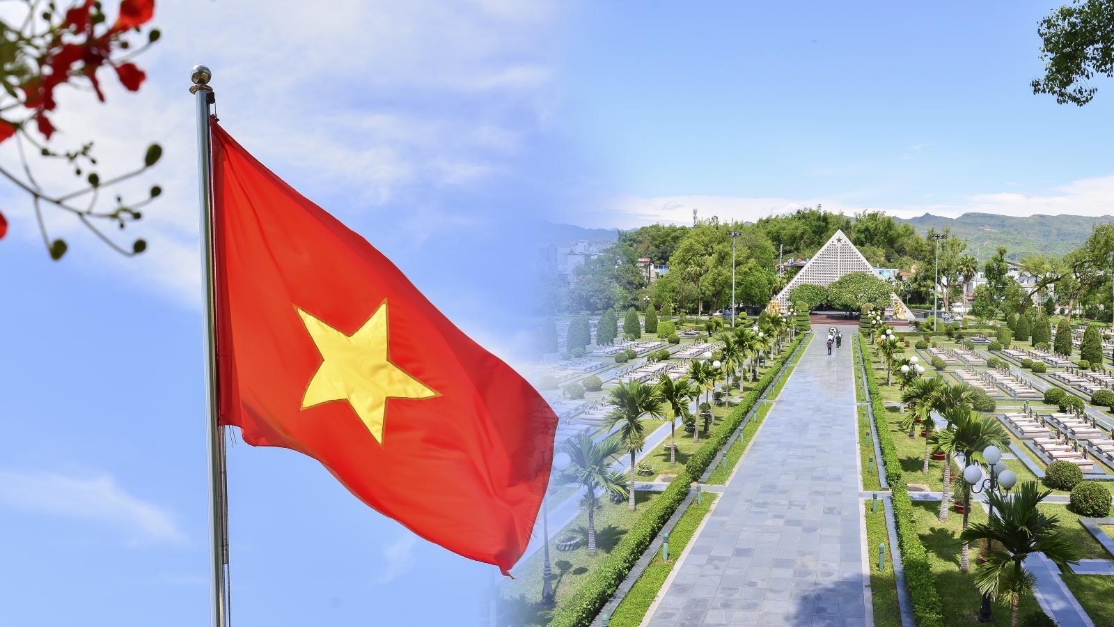 Bồi hồi tháng 5 trên mảnh đất lịch sử Điện Biên Phủ