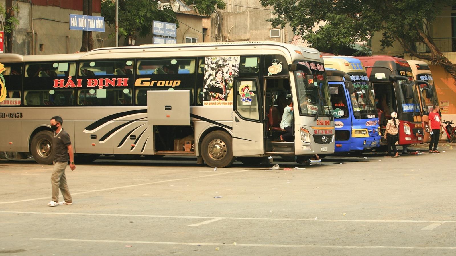 Không có chuyện xe khách vẫn hoạt động tuyến Điện Biên-Bắc Giang