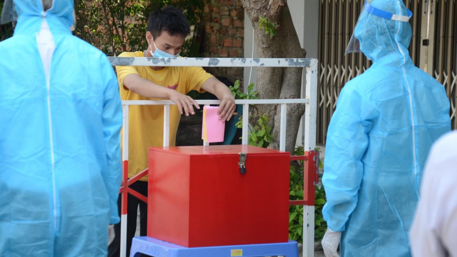 Đà Nẵng sẽ đem thùng phiếu phụ tới cửa nhà người đang cách ly