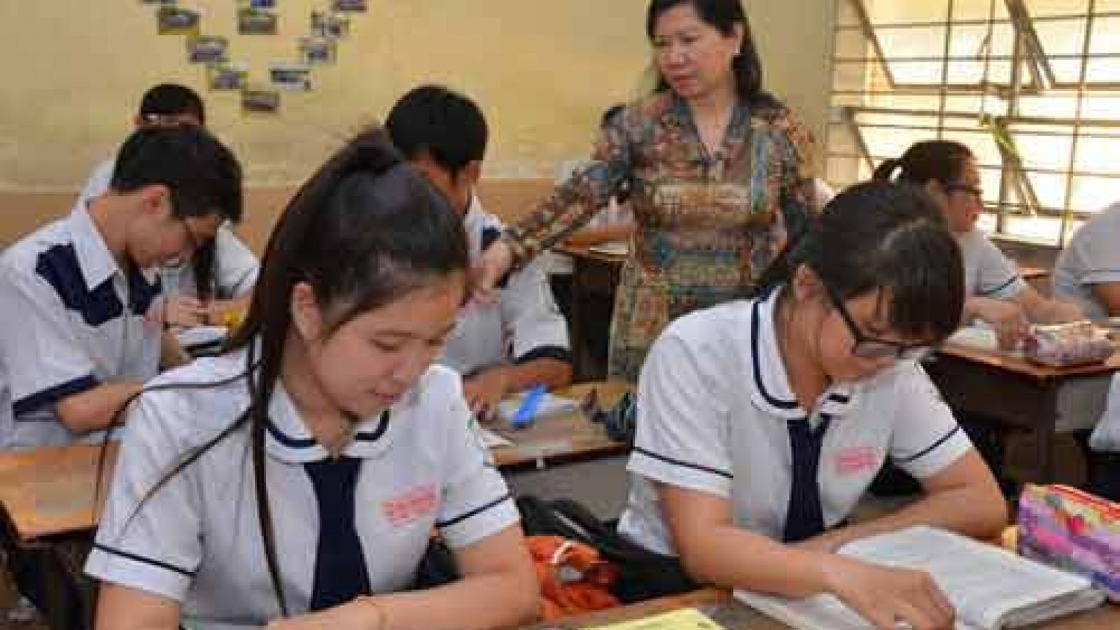 KiênGiang điều chỉnh lịch thi cuối kỳ sớm hơn 1 tuần để chủ động phòng chống dịch