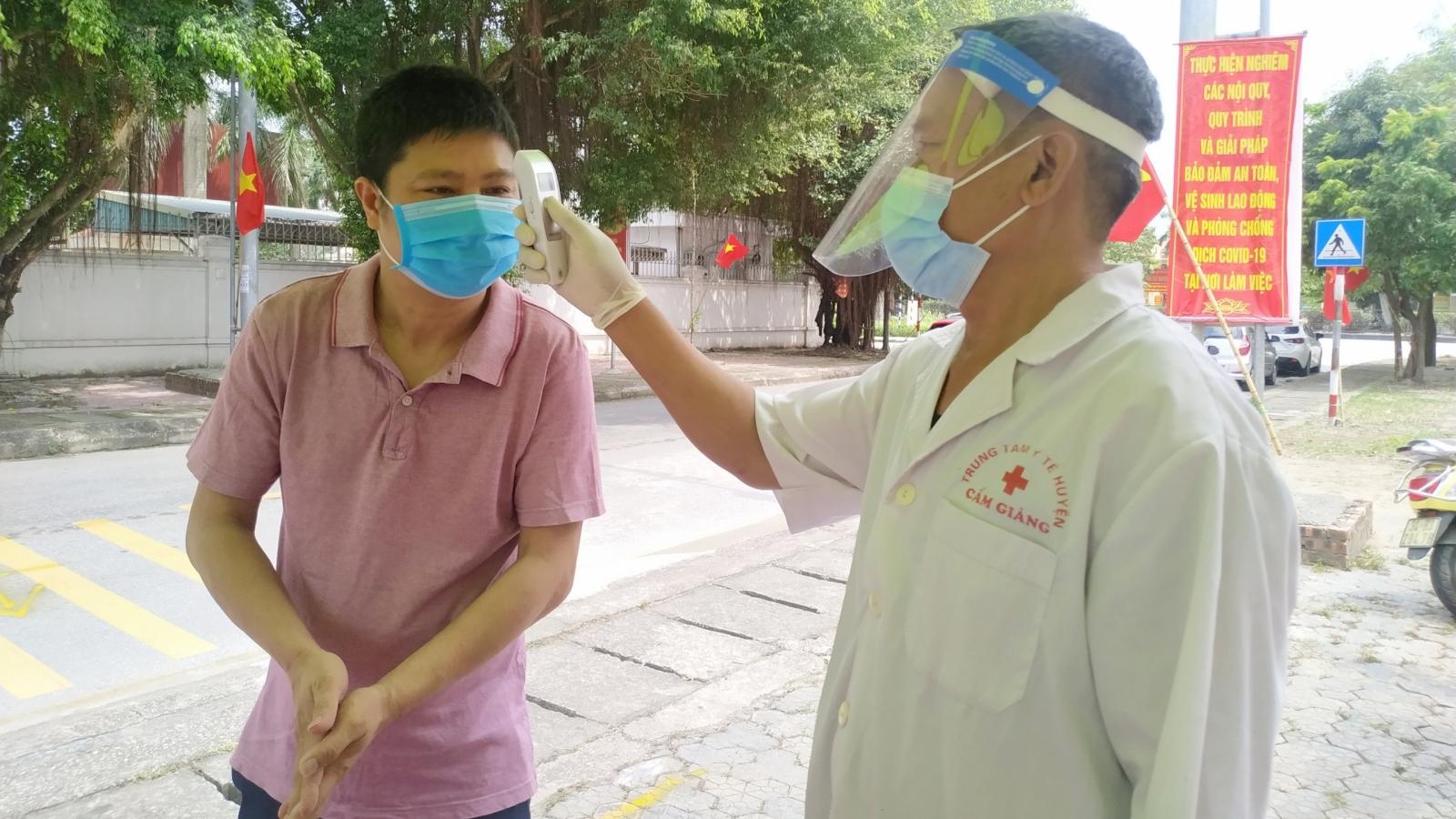 Từ 0h ngày 25/5, áp dụng biện pháp chống dịch cao nhấttại 10 phường của TP Hải Dương