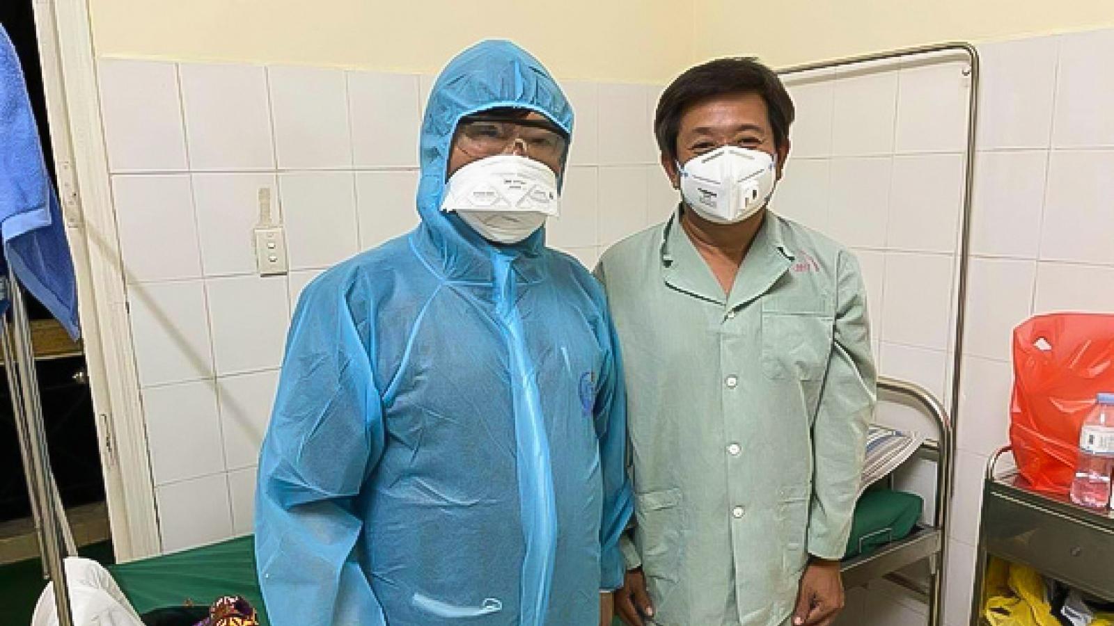 Ông Đoàn Ngọc Hải có xét nghiệm âm tính lần 1 với SARS-CoV-2