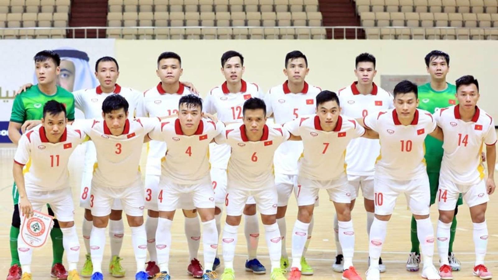 ĐT Futsal Việt Nam về nước vào ngày mai 27/5