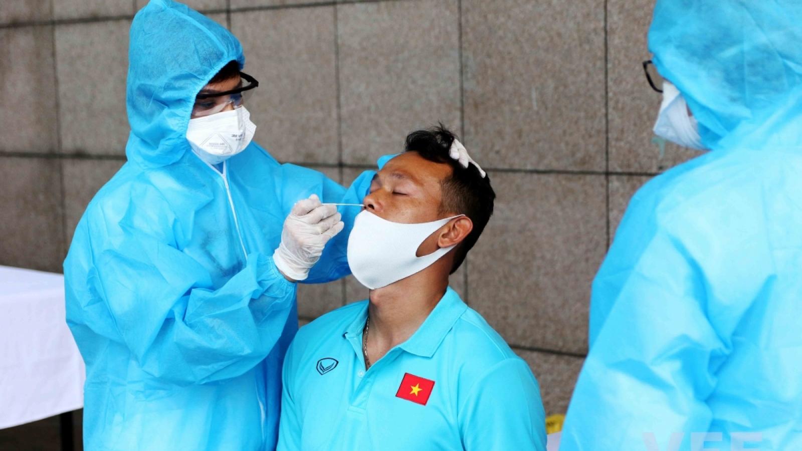 Toàn bộ ĐT Việt Nam âm tính với SARS-CoV-2