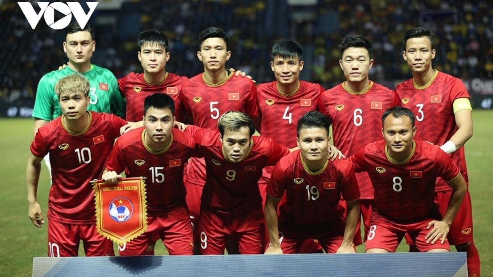 Danh sách chính thức ĐT Việt Nam: Có Văn Hậu, không Văn Lâm, Hữu Tuấn