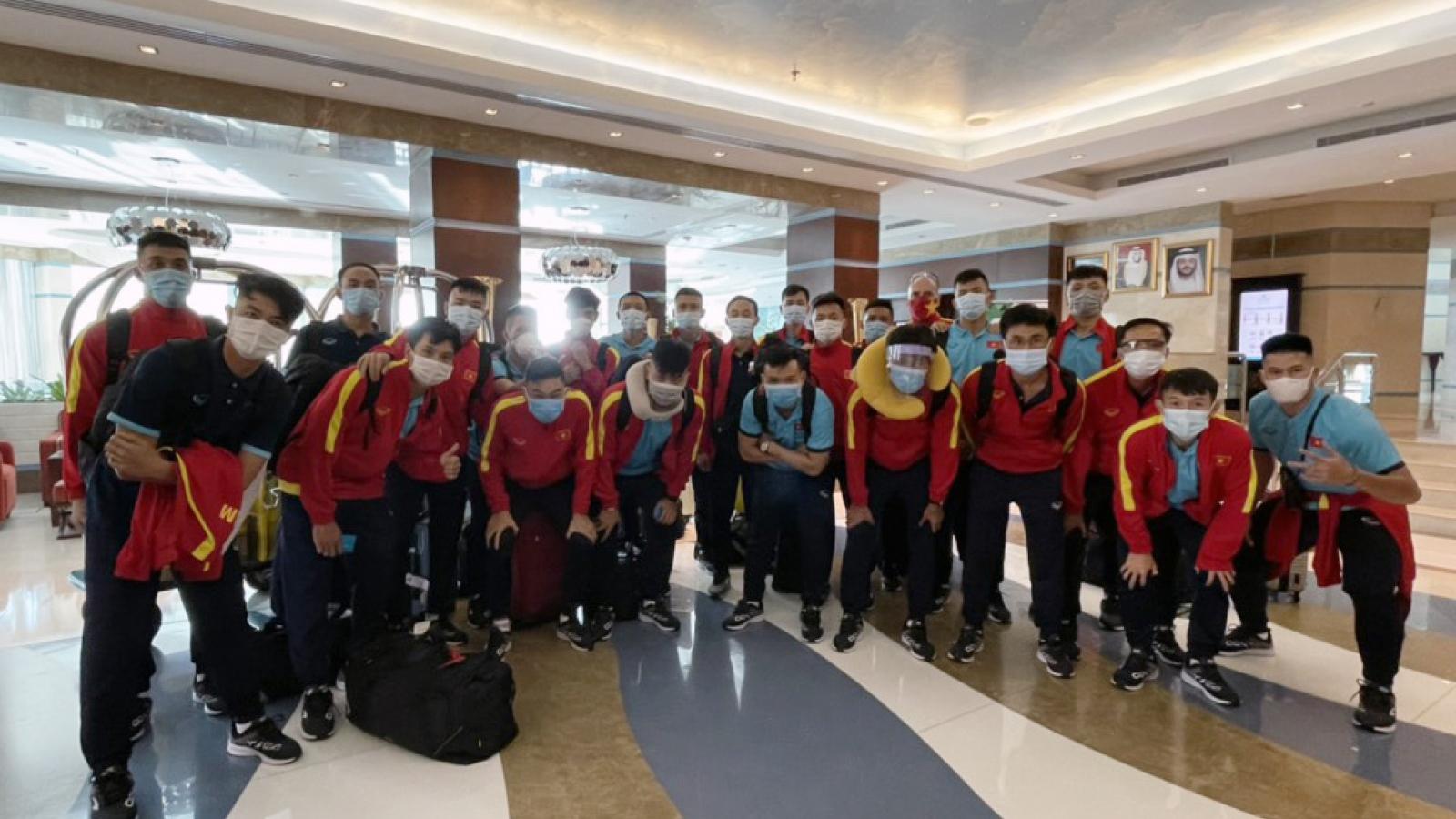 ĐT Futsal Việt Nam có mặt ở UAE, sẵn sàng tranh vé dự World Cup 2021
