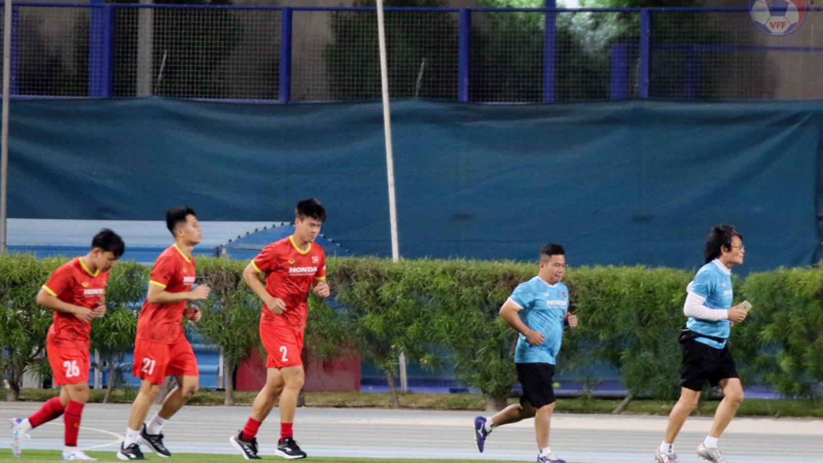 ĐT Việt Nam đá giao hữu ít hơn các đối thủ ở vòng loại World Cup 2022