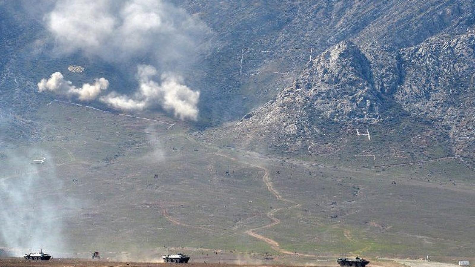 Kyrgyzstanvà Tajikistan tiếp tục đấu súng tại khu vực biên giới