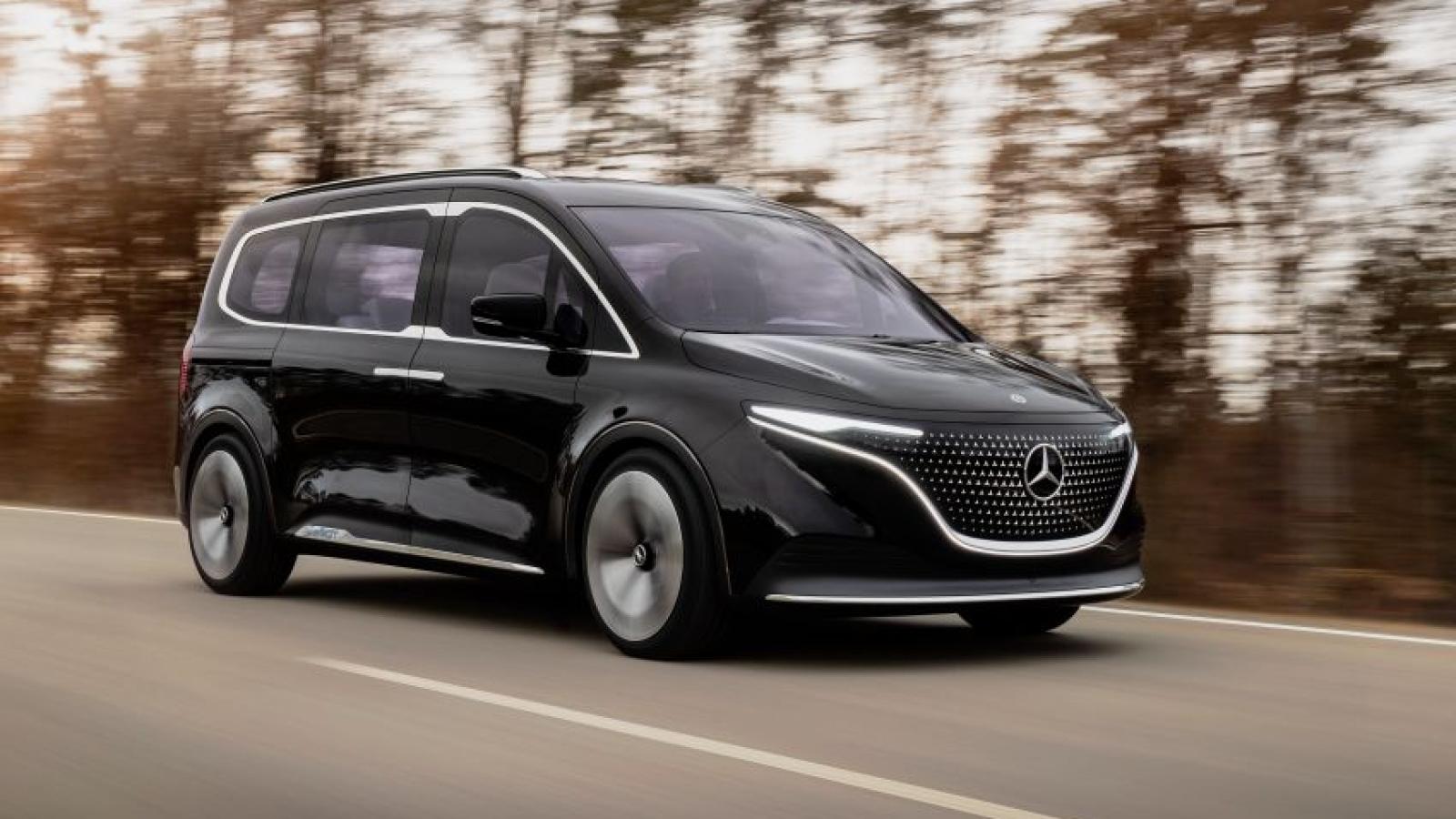 Mercedes-Benz tung concept xe MPV thuần điện