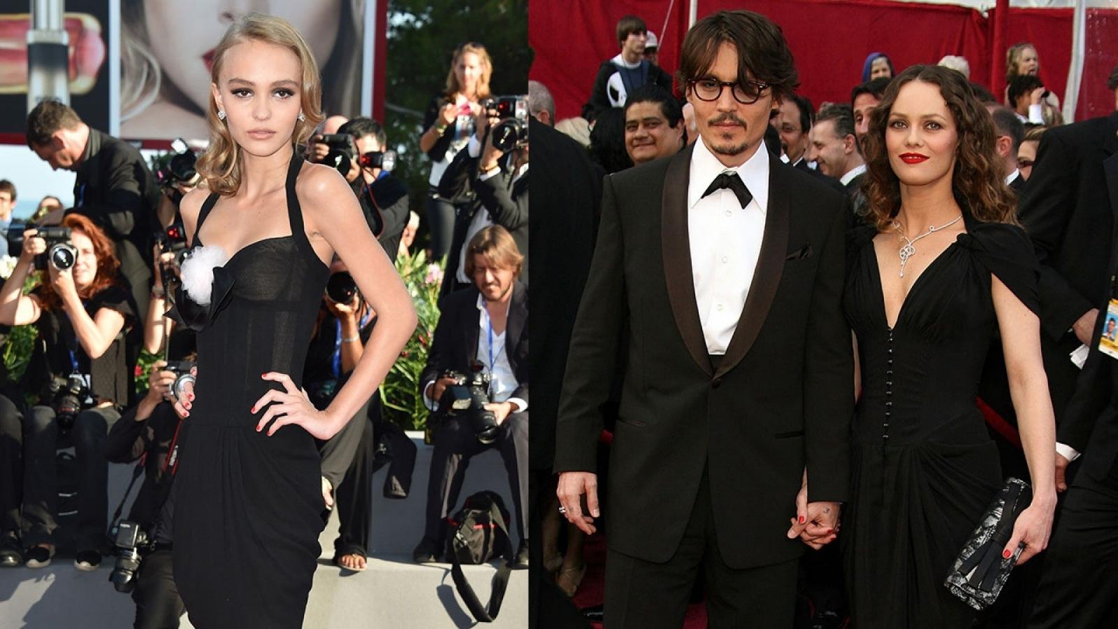 Lily-Rose Depp và loạt diễn viên đình đám Hollywood xuất thân từ gia đình nổi tiếng