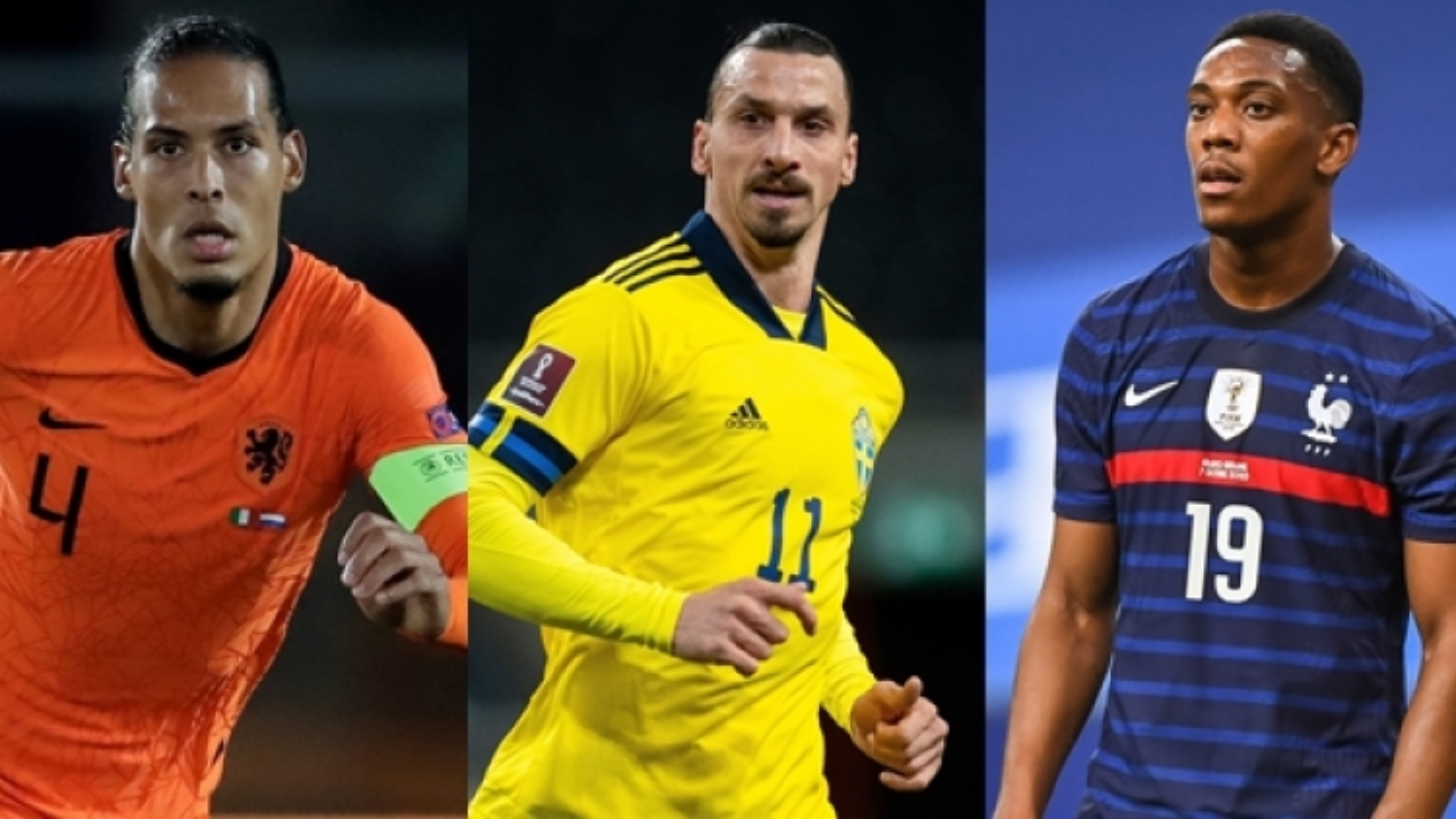 Đội hình những ngôi sao lỗi hẹn với VCK EURO 2020