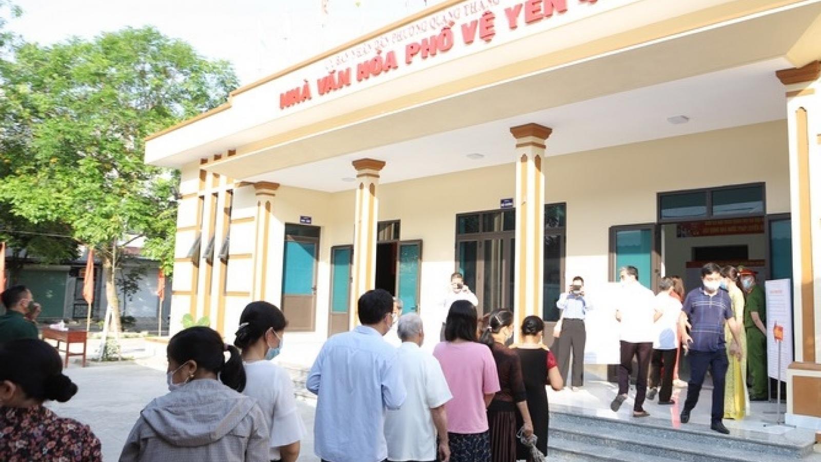 Thanh Hóa bầu đủ 14 Đại biểu Quốc hội khóa XV