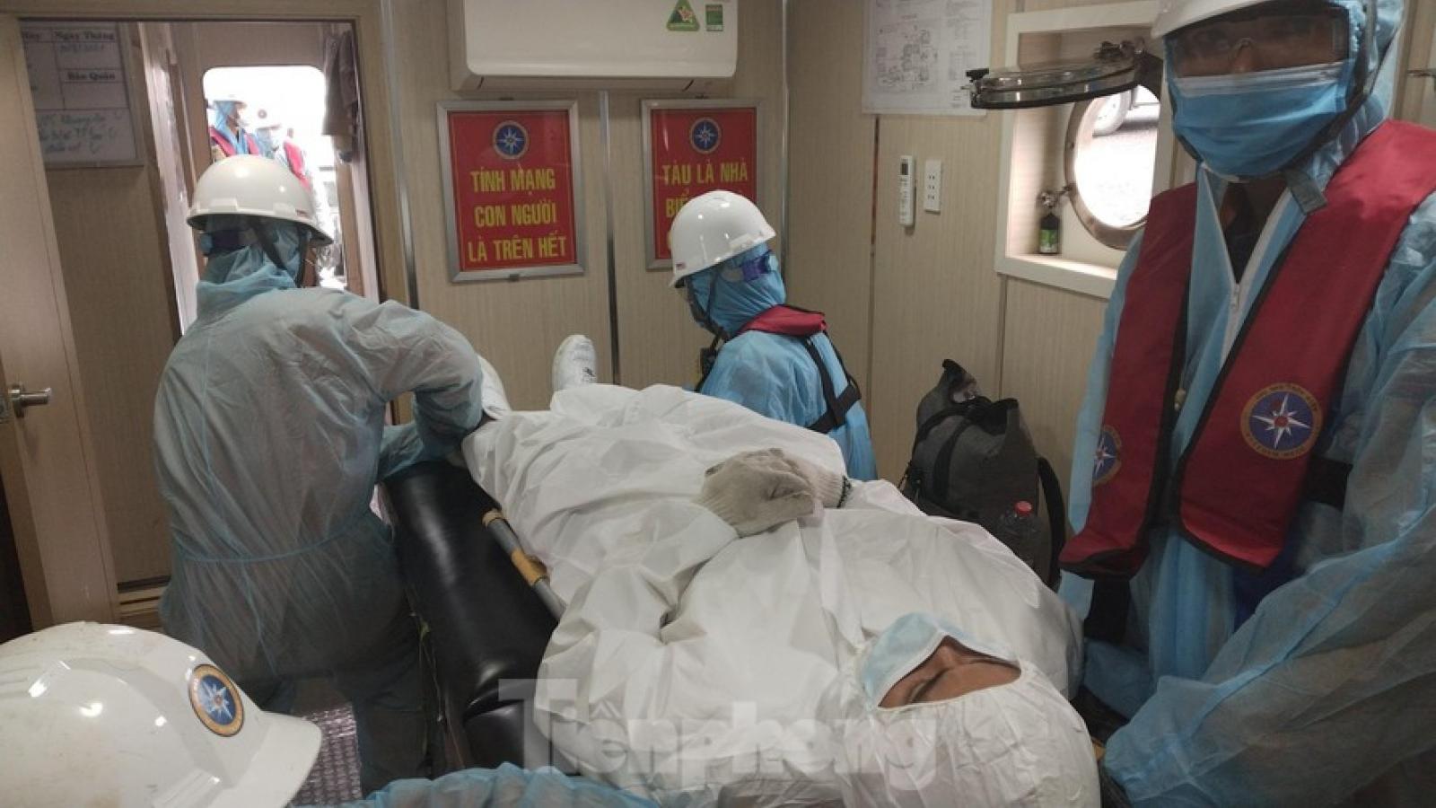 Vietnam rescues sick Filipino sailor off Nha Trang coast