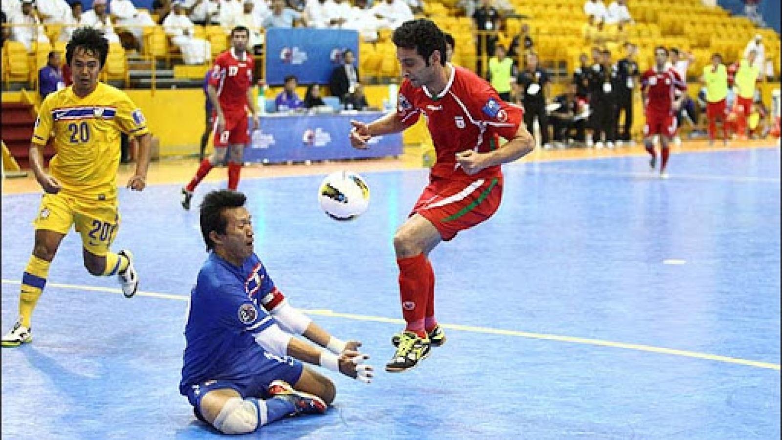 """Ngày này năm xưa: Futsal Thái Lan tạo nên """"địa chấn"""""""