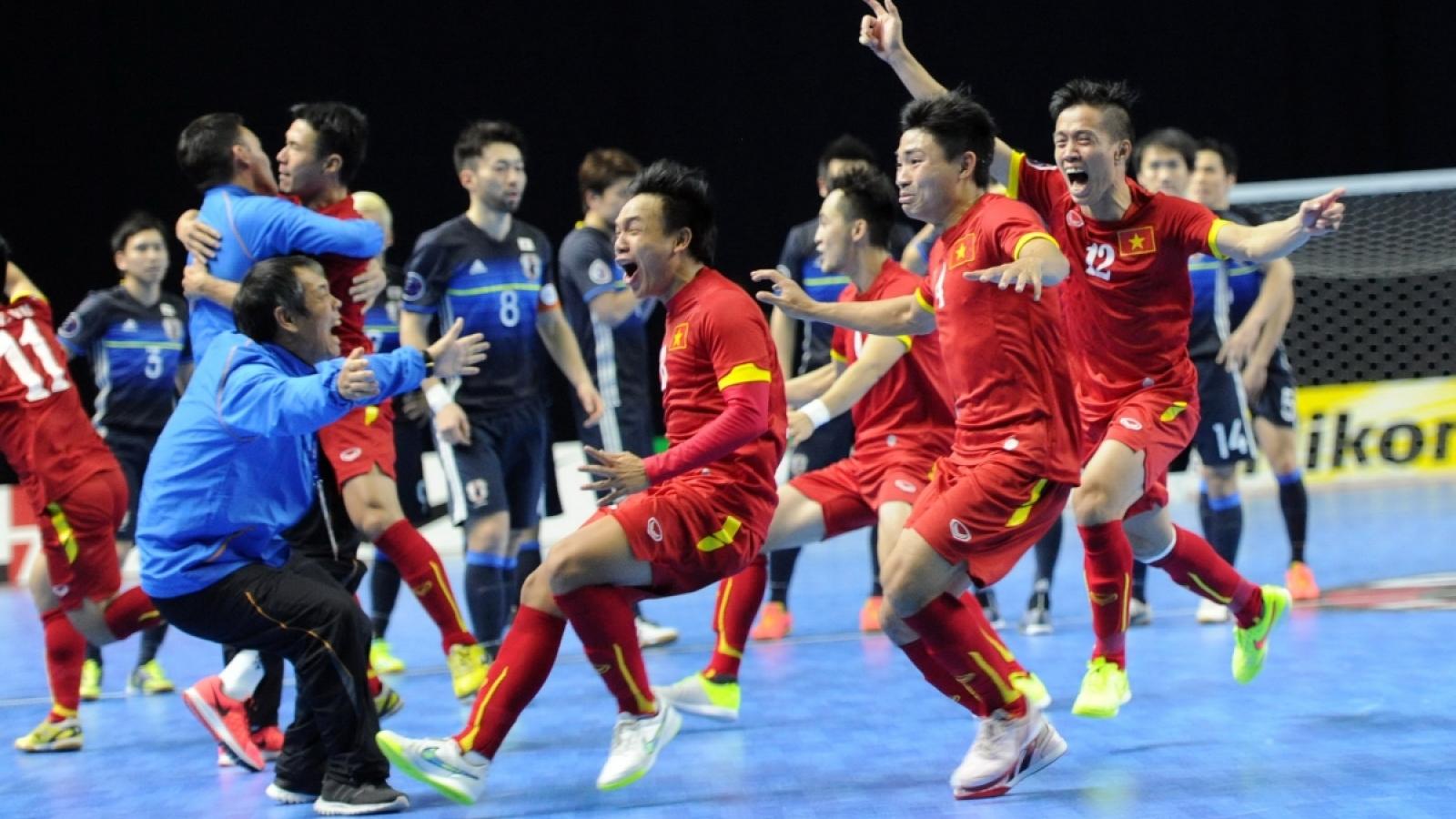 ĐT Futsal Việt Nam quyết tái lập kỳ tích World Cup