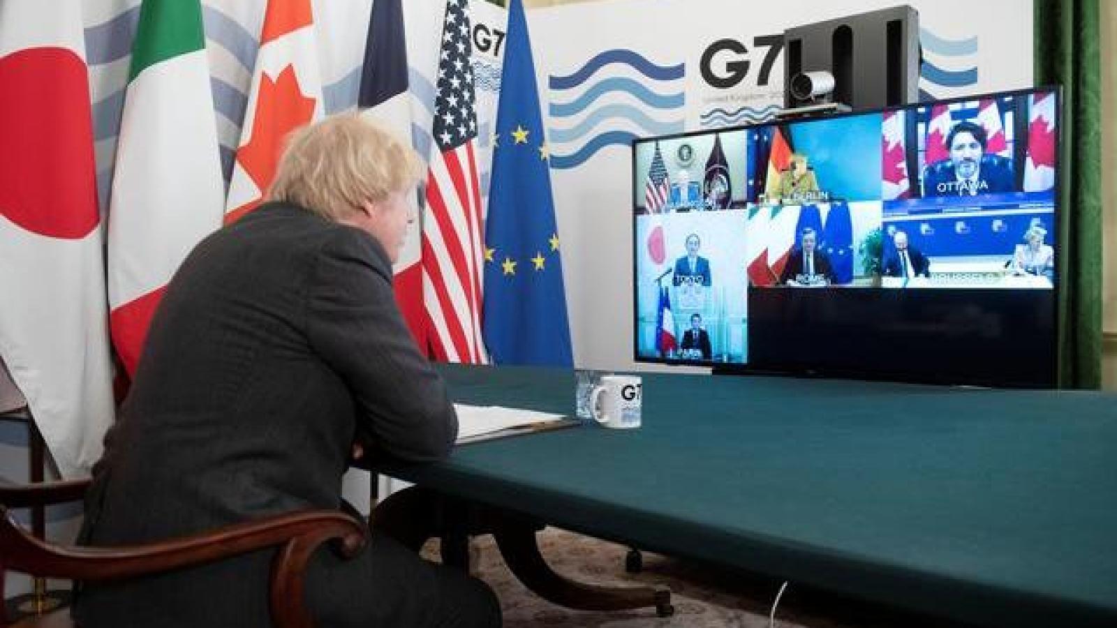 Ngoại trưởng G7 họp mặt tại London chuẩn bị hội nghị thượng đỉnh