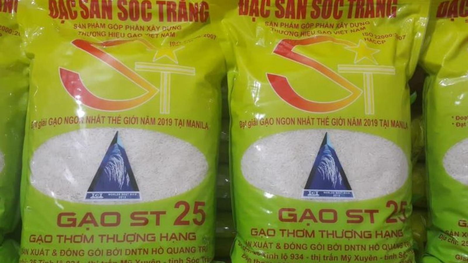 Khẩn cấp xử lý gạo ST24, ST25 bị đăng kí nhãn hiệu tại Australia