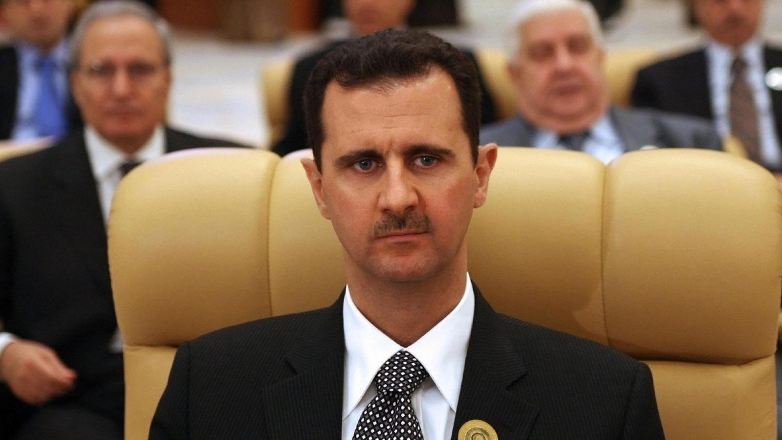 Tổng thống Syria Bashar al-Assad tái đắc cử với số phiếu áp đảo