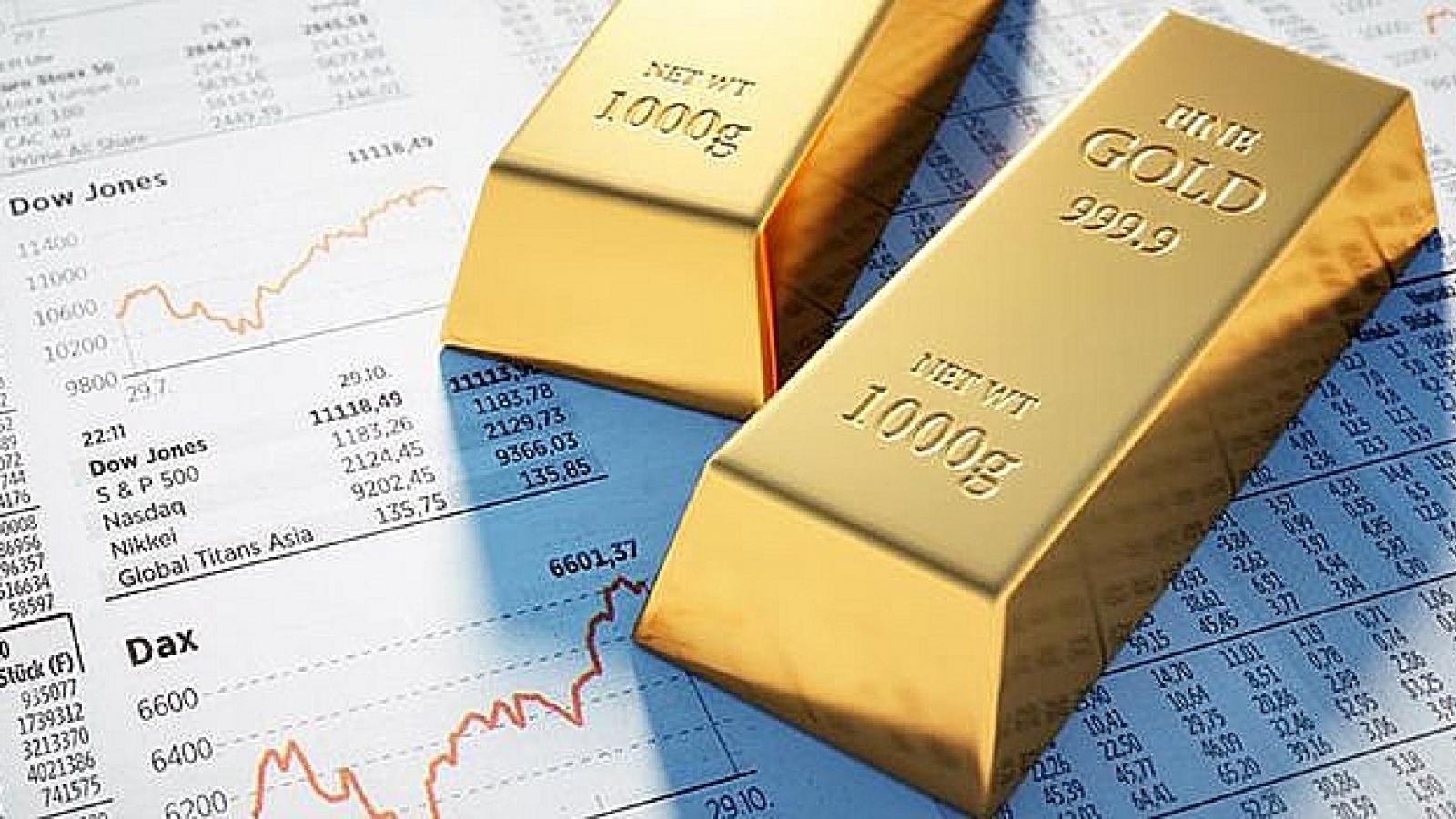 Giá vàng thế giới tăng nhẹ, chờ đợi thông tin từ cuộc họp của Fed
