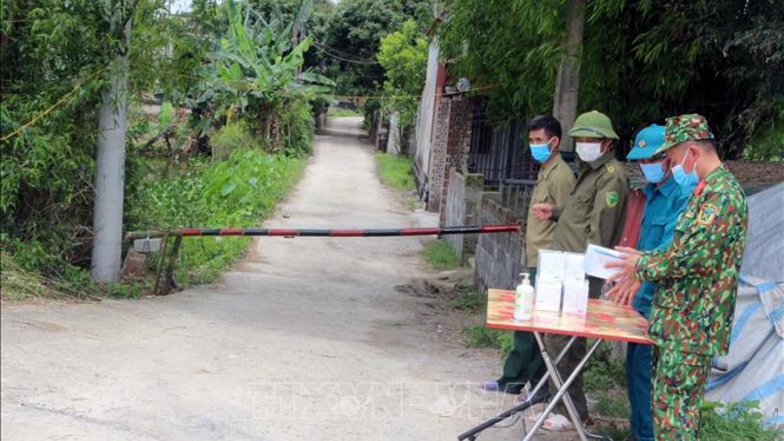 Hà Nam thiết lập vùng cách ly y tế tại 2 thôn ở huyện Lý Nhân