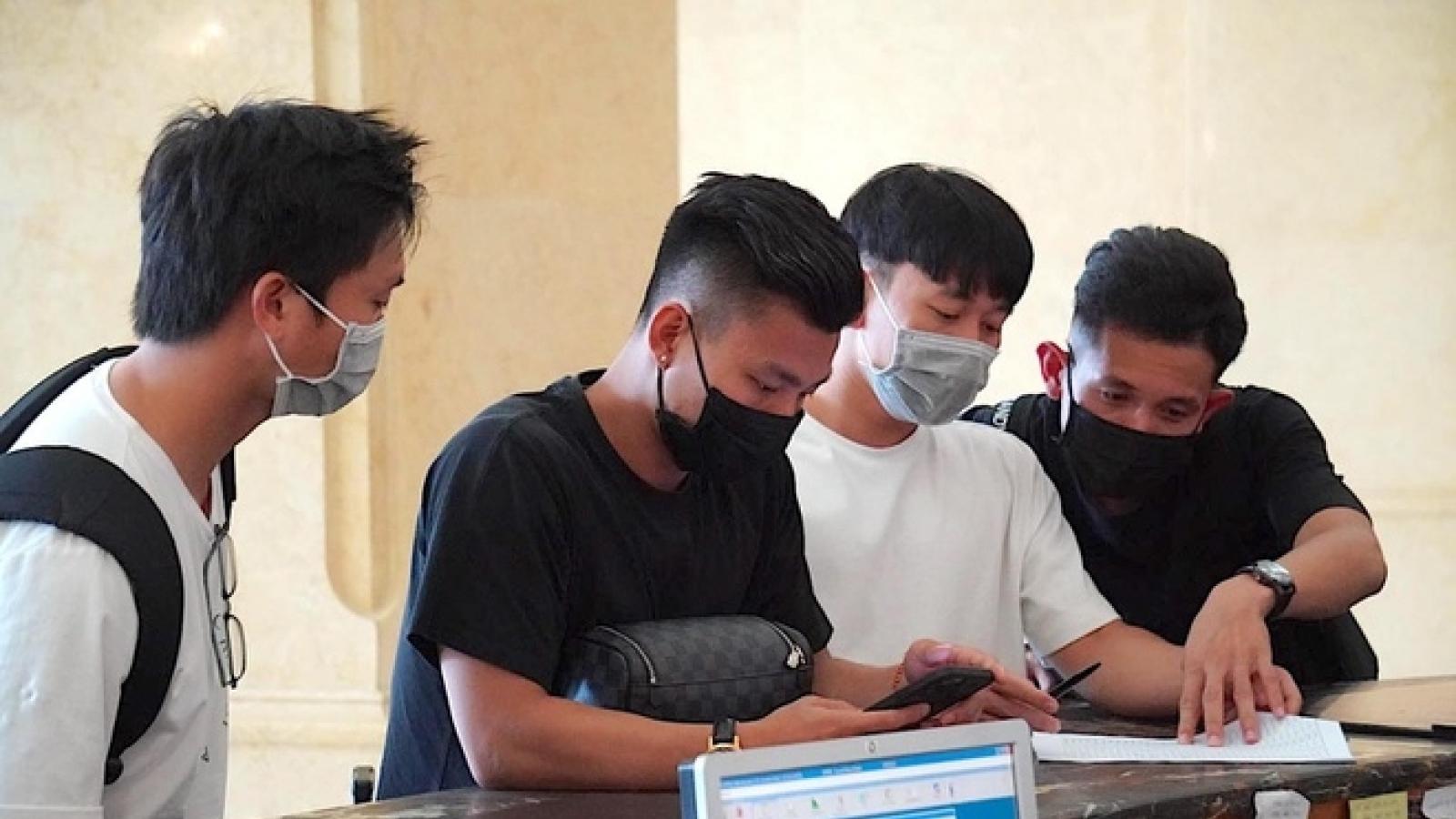 Dàn sao ĐT Việt Nam hào hứng hội quân, sẵn sàng làm nên lịch sử