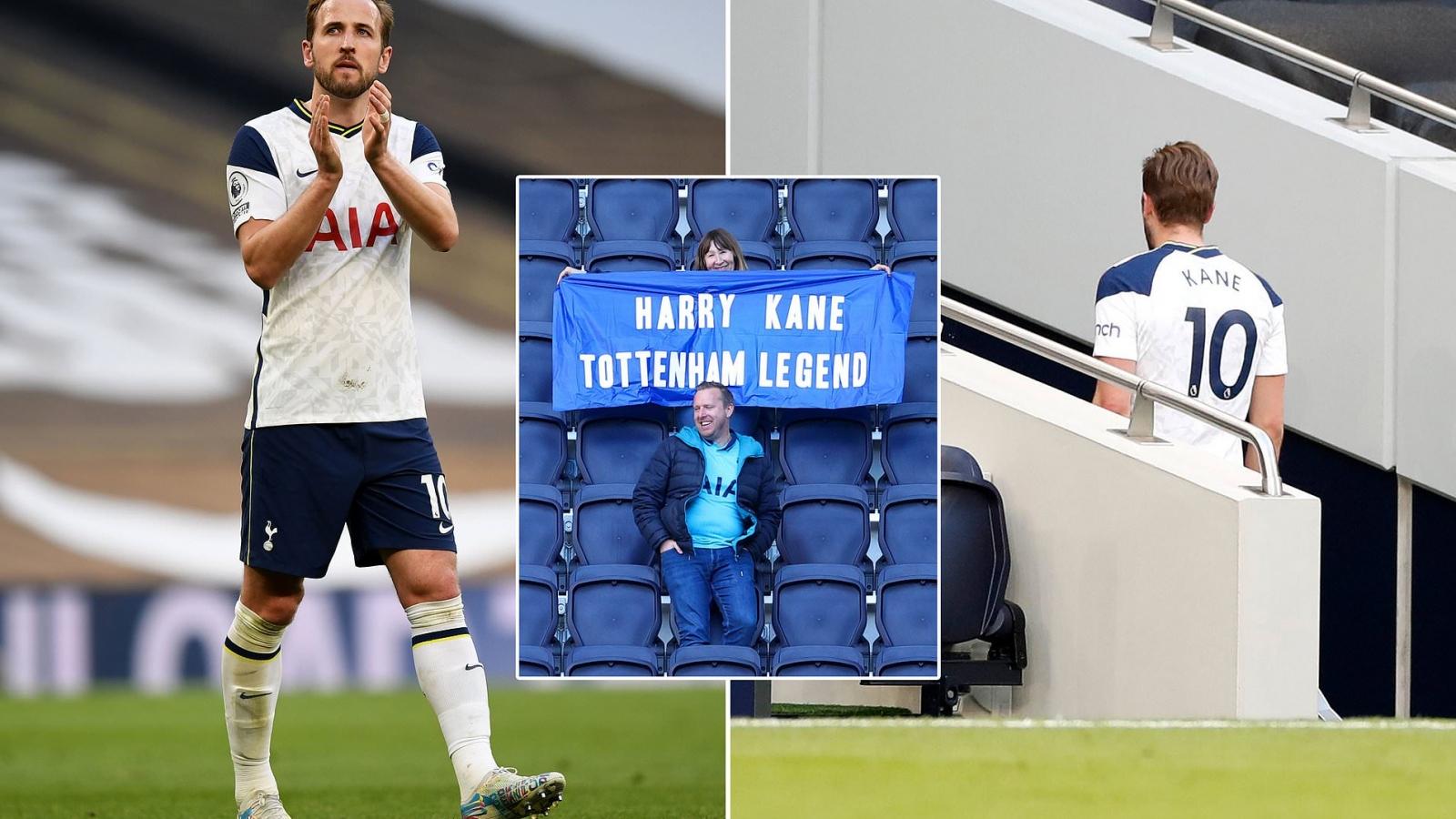 Harry Kane chào tạm biệt CĐV, chuẩn bị rời khỏi Tottenham
