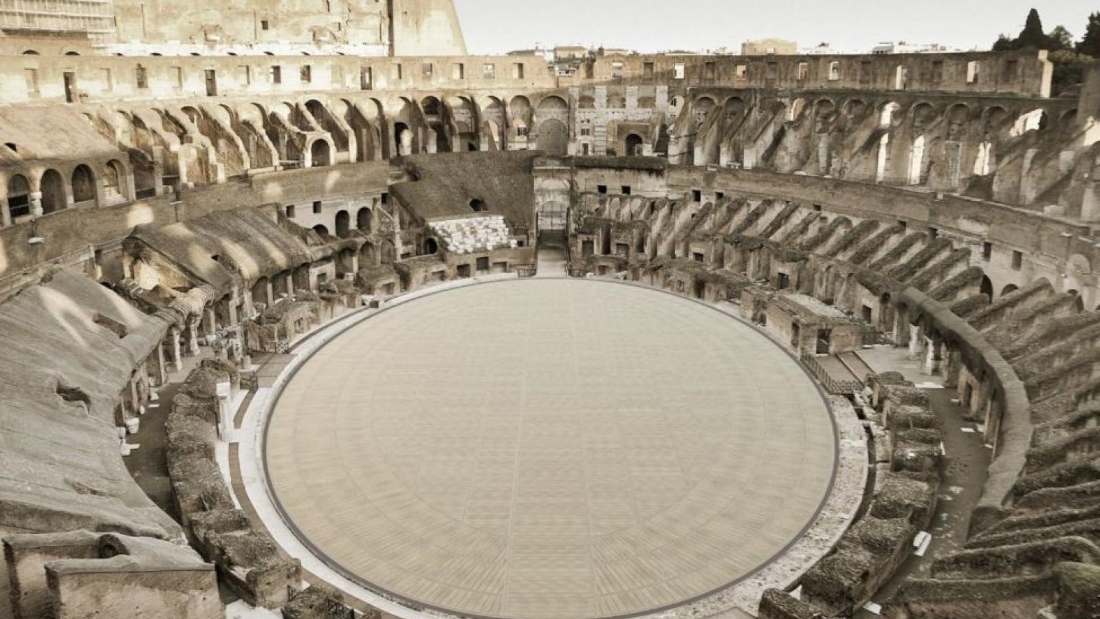 Italia phục dựng hình ảnh nguyên thủy đấu trường La Mã cổ đại