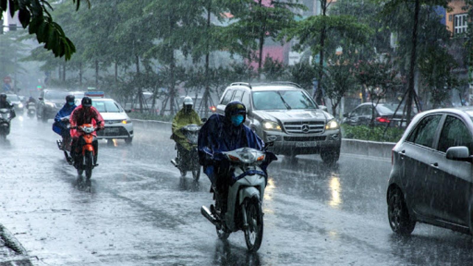 Thời tiết ngày 25/5: Cả nước có mưa rào và dông, cảnh báo gió lốc, mưa đá