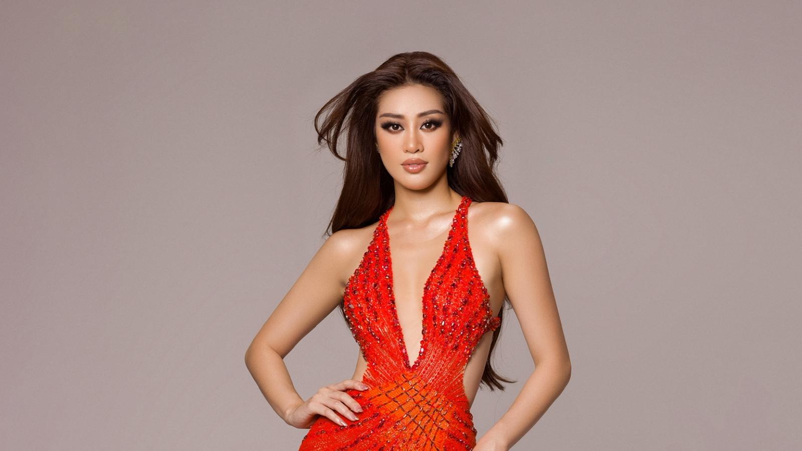 Hé lộ trang phục dạ hội của Hoa hậu Khánh Vân trong đêm chung kết Miss Universe
