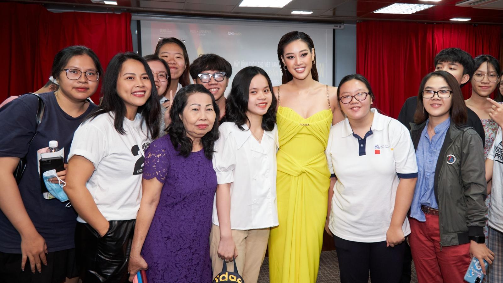 """Hoa hậu Khánh Vân: """"Nơi nào có tình yêu thương, nơi đó có sự tái sinh"""""""