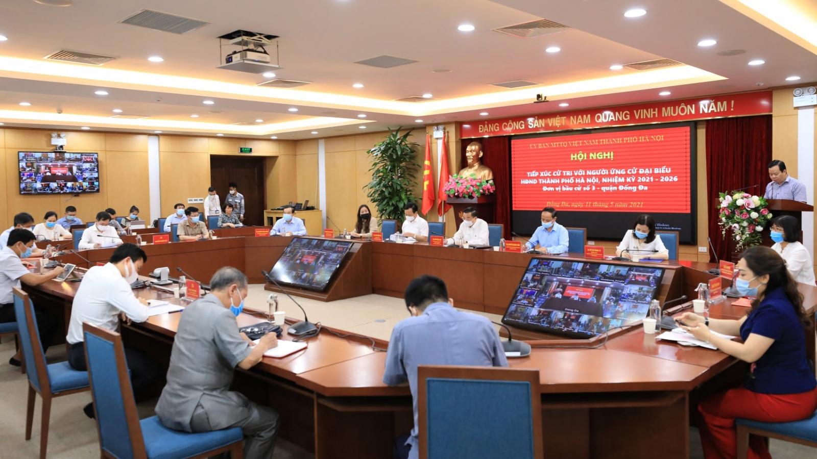 Chủ tịch Hà Nội: Chống dịch Covid 19 chủ động, quyết liệt nhưng linh hoạt, hiệu quả...