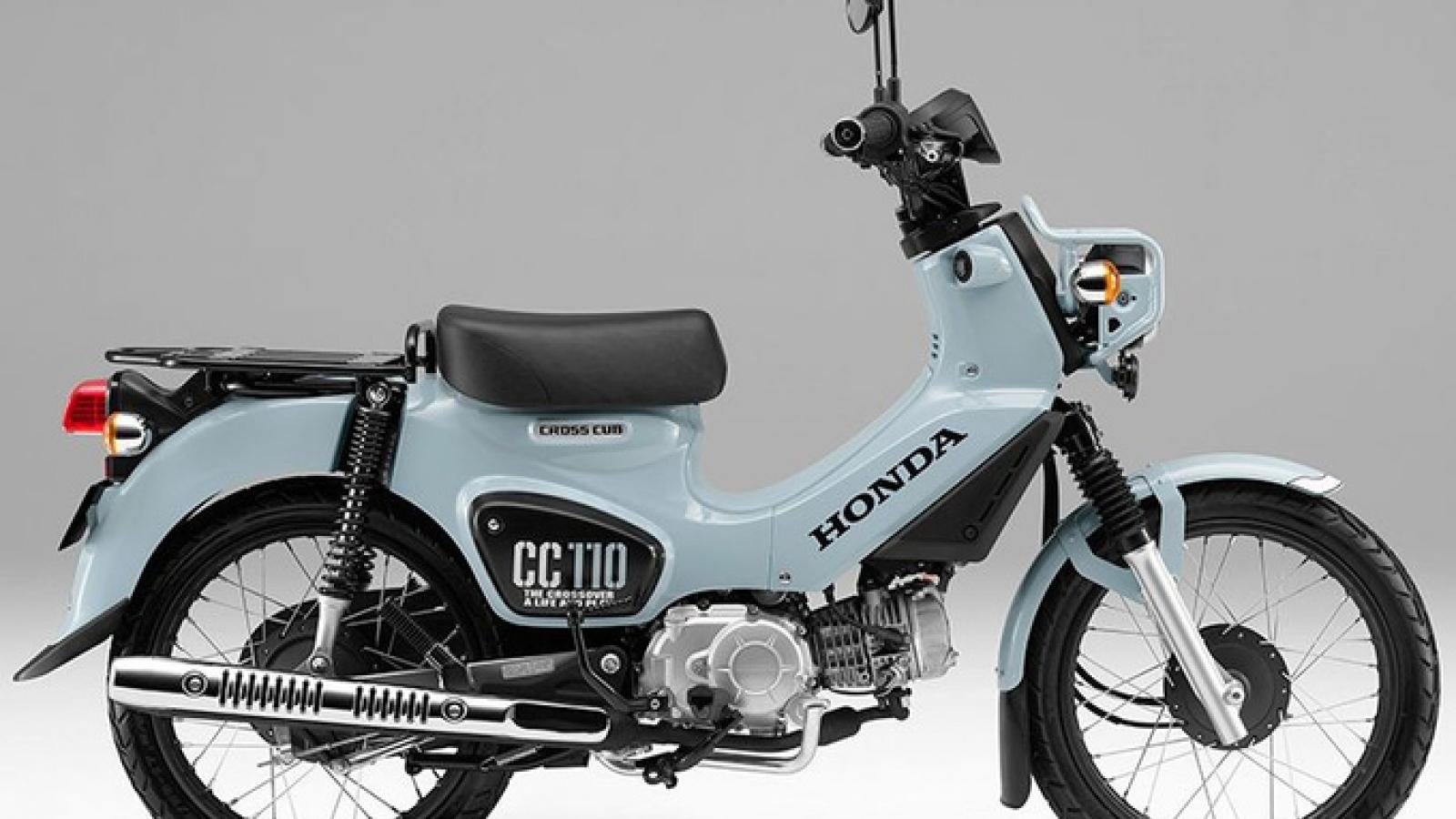 Honda Cross Cub 110 2021 giá 72 triệu đồng vừa ra mắt có gì đặc biệt?