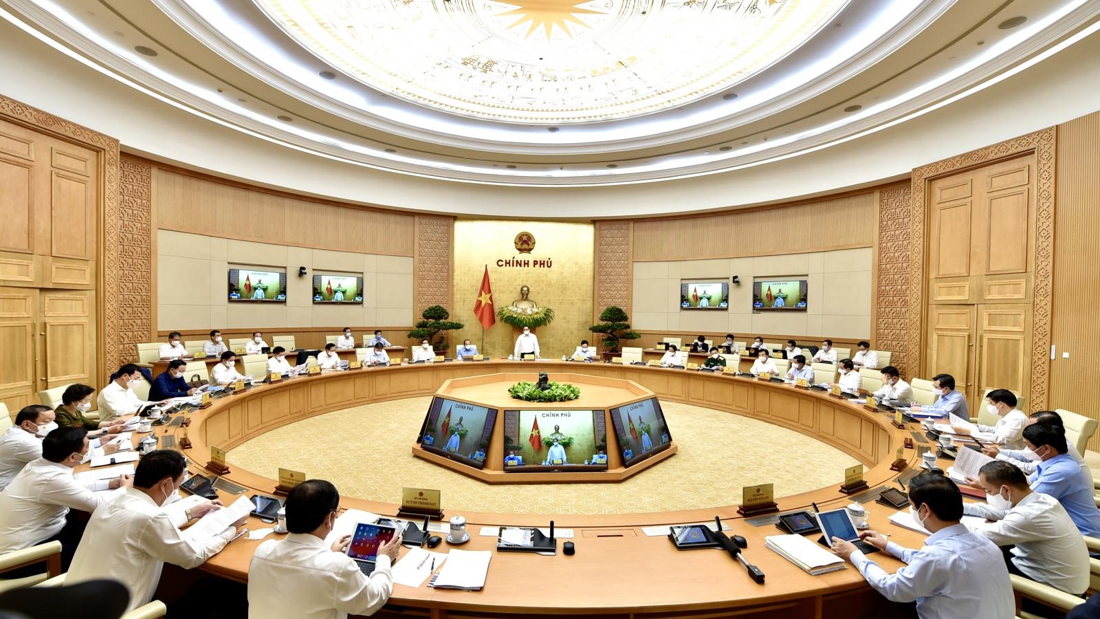 Chính phủ họp phiên thường kỳ: Xây dựng tiêu chuẩn quản lý, cá thể hoá trách nhiệm