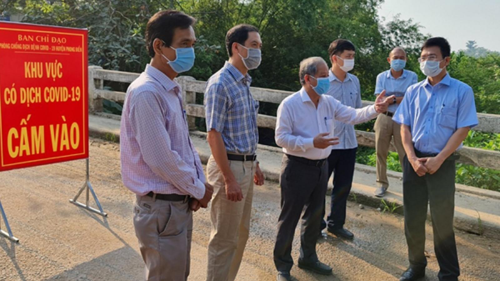 Đảm bảo ổn định cuộc sống cho người dân trong khu vực phong tỏa ở Thừa Thiên - Huế