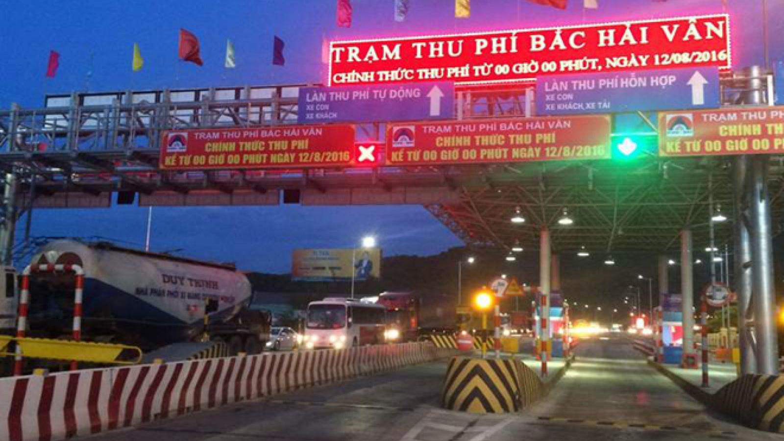 Bộ GTVT lên tiếng về trạm BOT Bắc Hải Vân tăng phí kịch trần