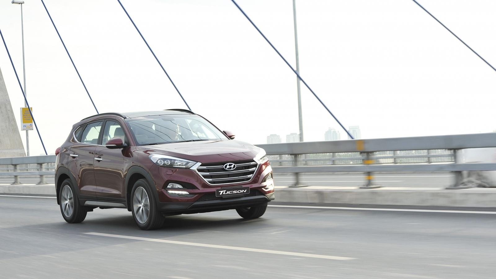 Triệu hồi hơn 23.000 xe Hyundai Tucson tại Việt Nam